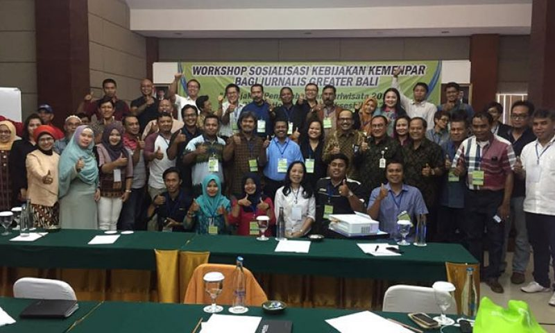 Workshop Wonderful Indonesia dengan Stakeholder Pentahelix