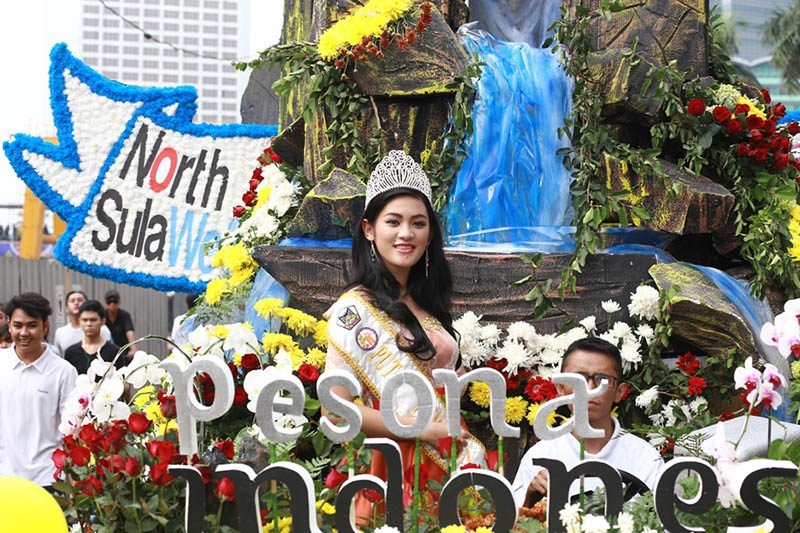 Tomohon International Flower Festival 2017