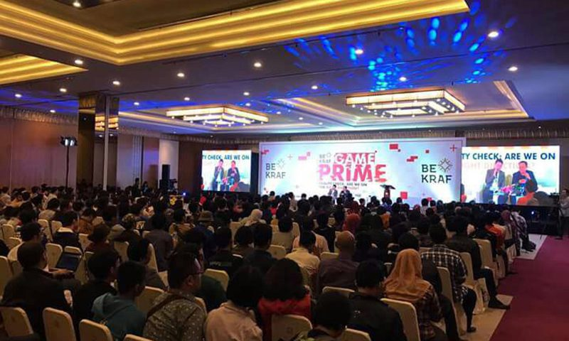 BEKRAF Game Prime 2017 Promosikan Industri Game di Indonesia