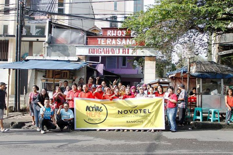 Zero Food Waste Novotel Bandung