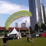 Kolaborasi IIOutfest 2017 dan AeroFest 2017 di Kota Bandung