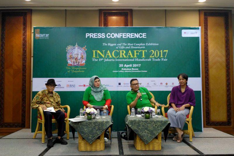 Konferensi pers Inacraft 2017