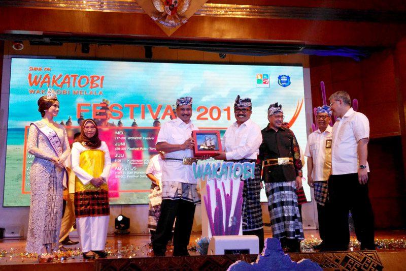 Peluncuran Calendar of Event Wakatobi