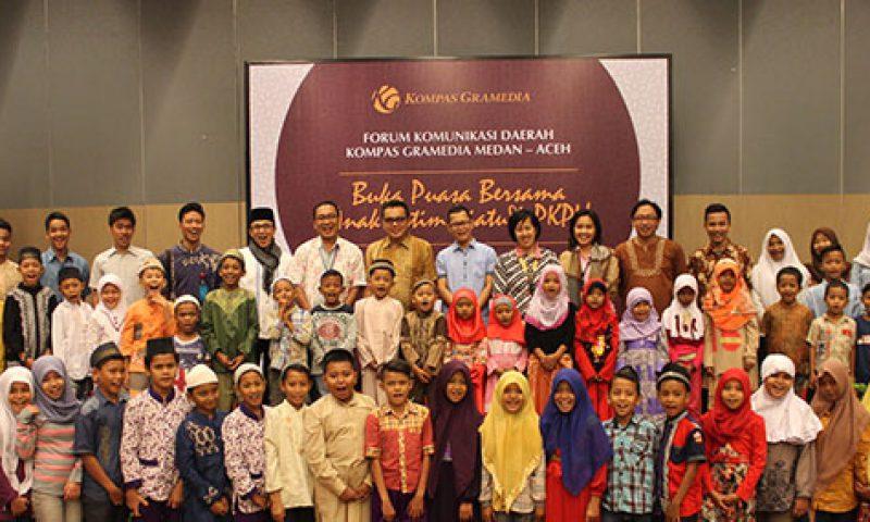 Santika Premiere Dyandra Medan Adakan Buka Bersama Yatim Piatu