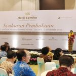 Syukuran Pembukaan Hotel Santika Premiere Hayam Wuruk