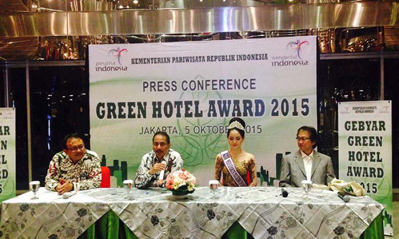 20 Hotel Peraih Green Hotel Award 2015