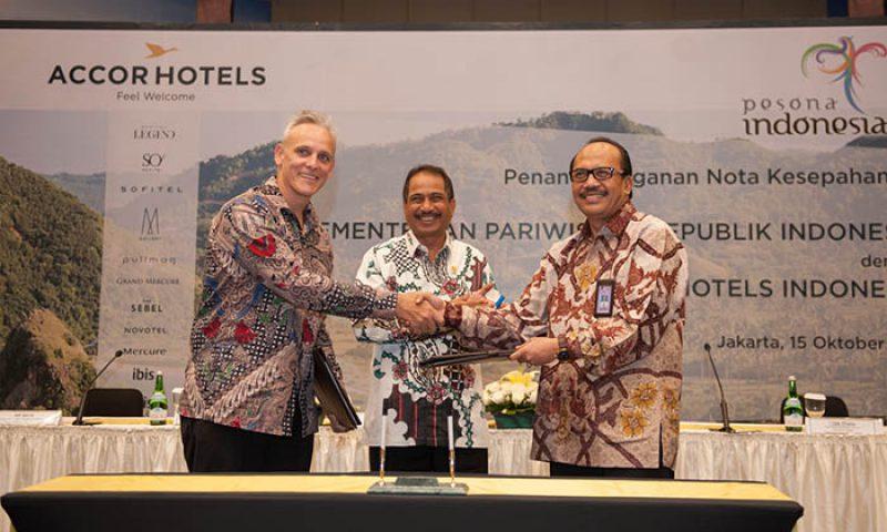 Kerja Sama AccorHotels Dengan Kementerian Pariwisata Memajukan Pariwisata Indonesia