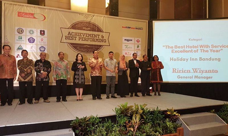 Holiday Inn Bandung, Hotel Dengan Layanan Terbaik