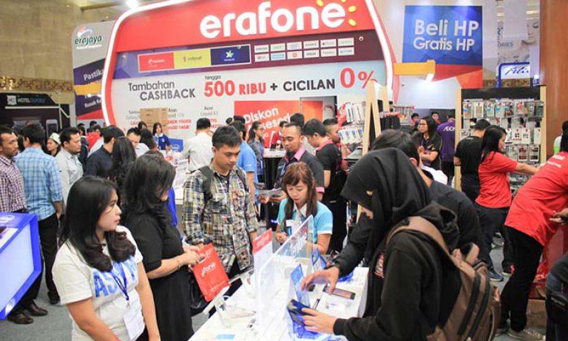 Transaksi Indocomtech 2015 Menurun