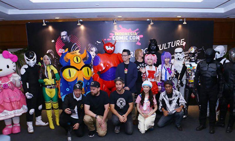 Indonesia Comic Con, Berbeda Dengan Pameran Pop Lainnya