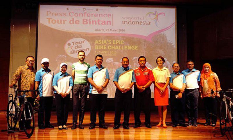 Mencapai Kunjungan 2,5 Juta Wisman Melalui Tour De Bintan