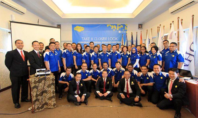 Corporate & GM Meeting Dafam Hotel Kembali ke Asal