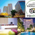 The Park Lane Jakarta Menerima Certificate of Excellence TripAdvisor