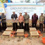 Ground Breaking Hotel Dafam Lotus Jember