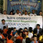 Four Points Mengawali Tahun 2017 dengan Kegiatan Sosial