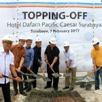 Topping Off Hotel Dafam Pasific Caesar Surabaya
