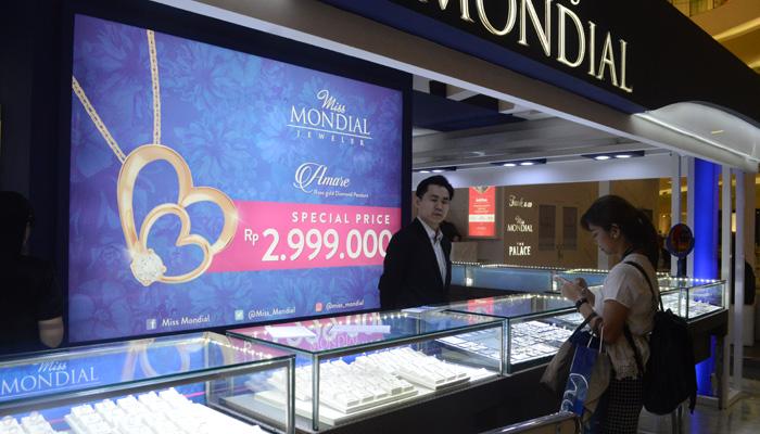 Pameran Perhiasan Masih Diminati Pasar Jakarta