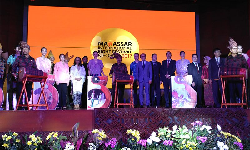 Menpar Luncurkan Makassar International Eight Festival & Forum 2017