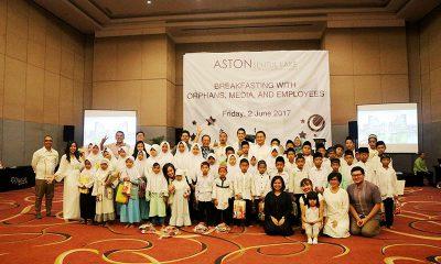 CSR Aston Sentul Lake Resort & Conference Center dengan Anak Panti Asuhan