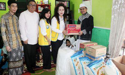 Program CSR Amos Cozy Hotel Kunjungi Panti Asuhan
