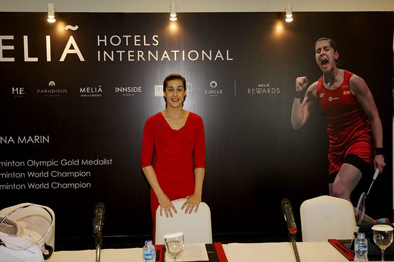 Melia Hotels International, Carolina Marin