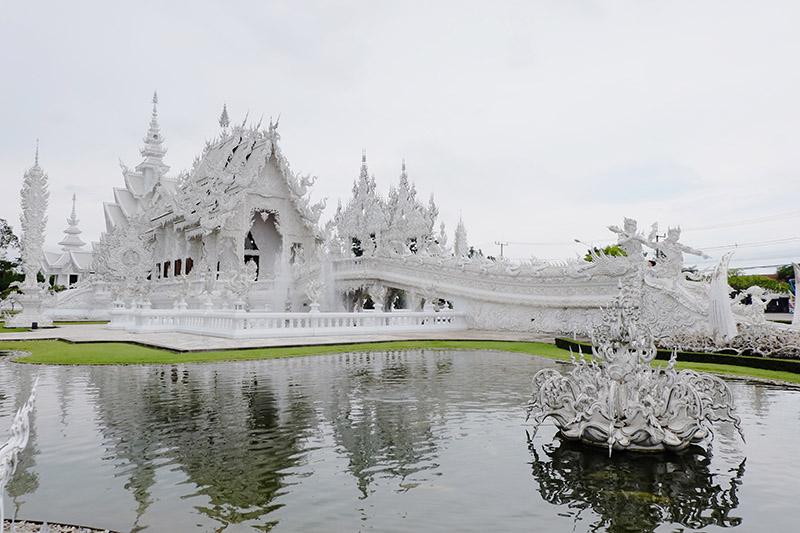 Wat Rong Khun di Chiang Rai