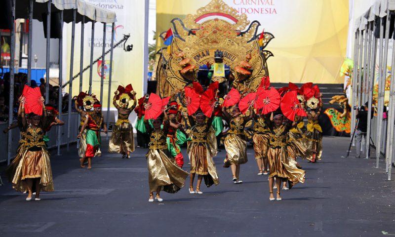Jember Fashion Carnaval 2018 Mengangkat Tema Kebangkitan Negara-Negara di Asia