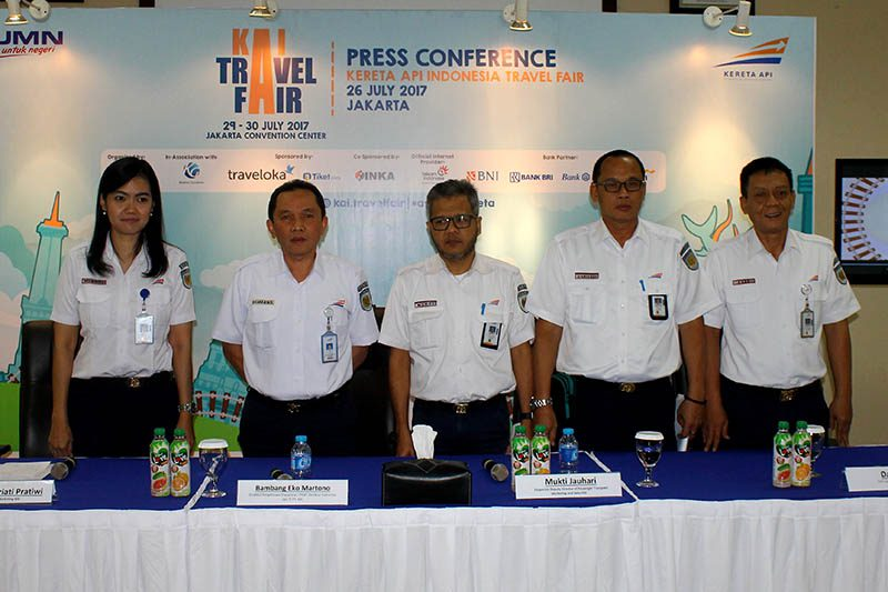 Kereta Api Indonesia Travel Fair