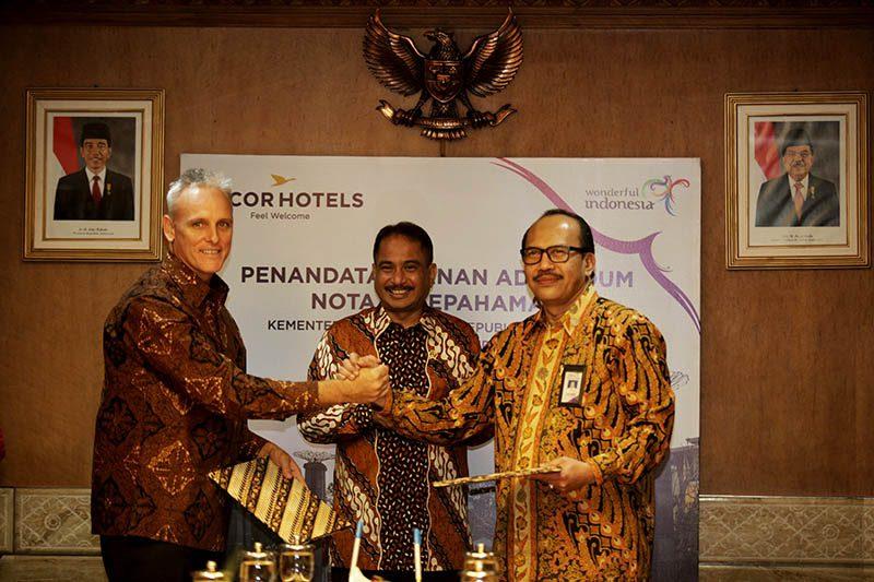 Kerja sama AccorHotels dengan Kementerian Pariwisata