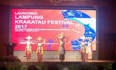 Lampung Krakatau Festival 2017 Tampilkan Harta Tersembunyi Lampung
