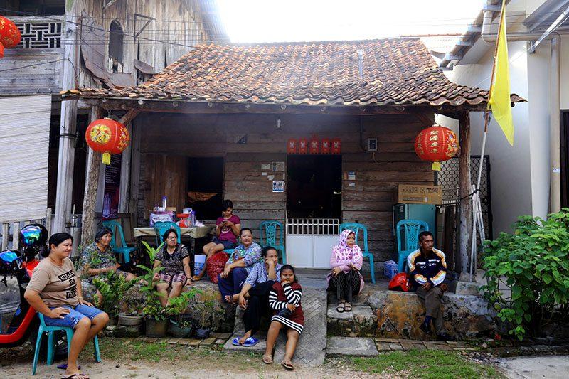 Kampung pecinan Bangka Selatan