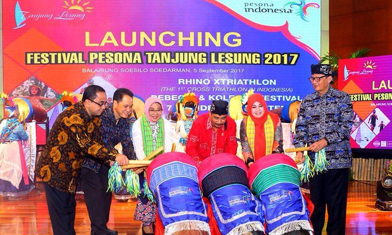 Bertualang di Festival Pesona Tanjung Lesung 2017
