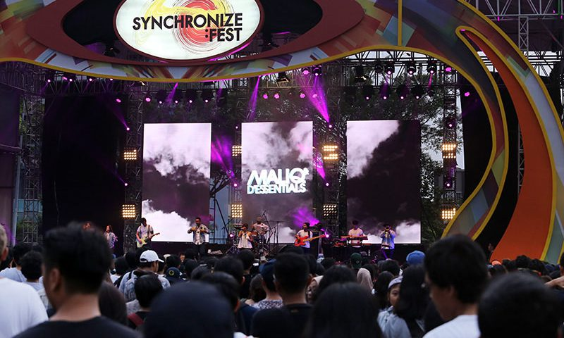 Synchronize Festival Batal Hadir di Dyandra New Adventure