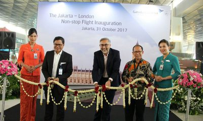 Garuda Indonesia Terbang Nonstop ke London
