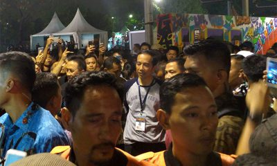 Presiden Jokowi Kejutkan Synchronize Fest 2017