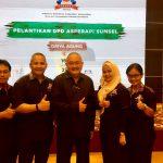 Asperapi Lantik Pengurus DPD Sumatera Selatan