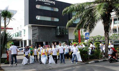 Grandkemang Jakarta Berpartisipasi dalam Clean Up Jakarta Day 2017