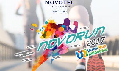Novotel Bandung Mengadakan Virtual Run Pertama di Bandung