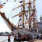 KRI Dewaruci dan Bima Suci Bergabung dengan Sail Sabang 2017