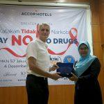 Sosialisasi AccorHotels Terhadap Bahaya Narkoba di SMKN 57