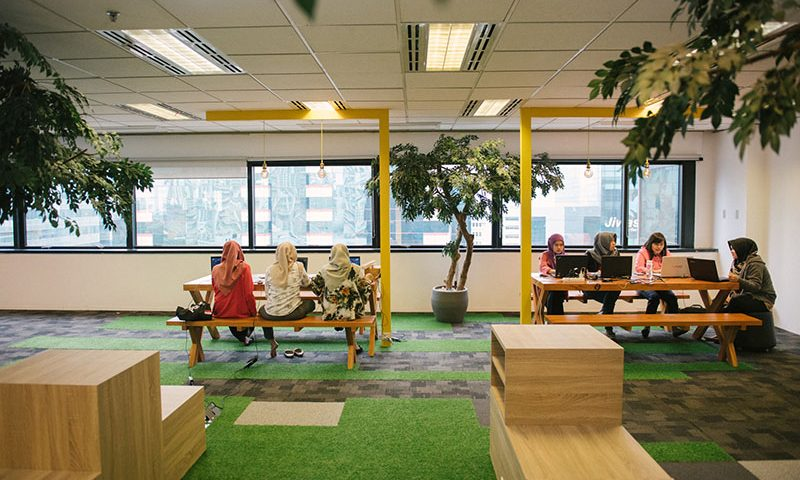 EV Hive City, Co-Working Space Terbesar di Indonesia