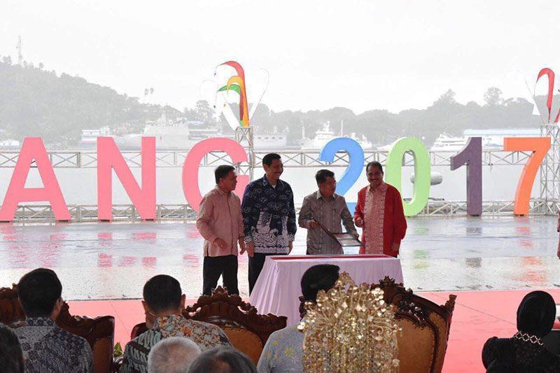Jusuf Kalla Sail Sabang 2017