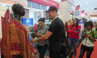 Produk Batik Banyak Diminati di Katumbiri Expo 2017