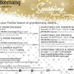 Sparkling Festive Season di Grandkemang Jakarta