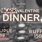 Sensasi Black Valentine Dinner Bersama Novotel Bandung