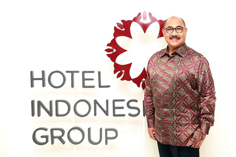Iswandi Said, Hotel Indonesia Natour