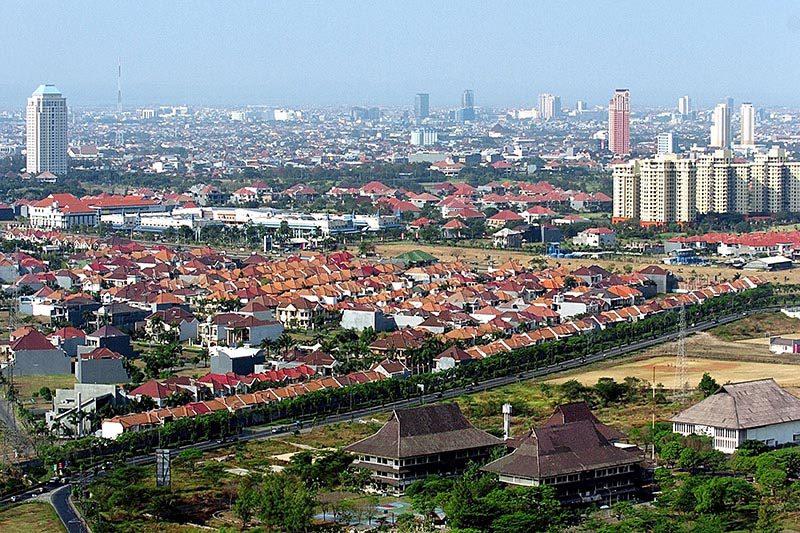 Surabaya Aerial View