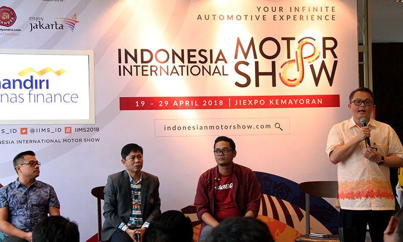 Indonesia International Motor Show 2018 Naik Kelas