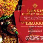 Lunar Buffet Dinner di Nexa Hotel Bandung