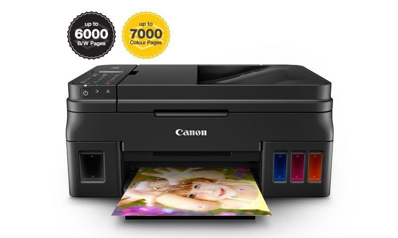 Canon Luncurkan Empat Printer yang Hemat Tinta